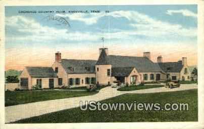 Cherokee Country Club - Knoxville, Tennessee TN Postcard