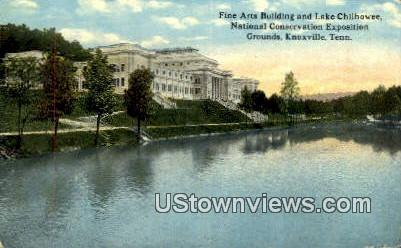 National Conservation Exposition Grounds - Knoxville, Tennessee TN Postcard