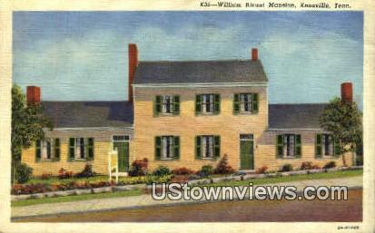Williams Blount Mansion, 1792 - Knoxville, Tennessee TN Postcard