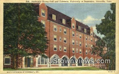 University of Tennessee - Knoxville Postcard