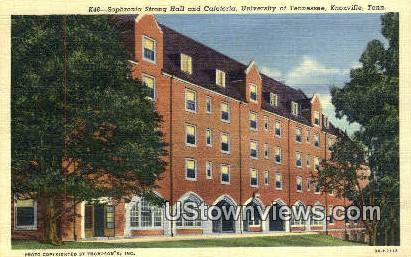 Sophronia Strong Hall - Knoxville, Tennessee TN Postcard