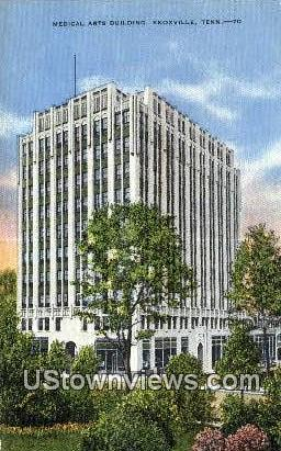 Medical Arts Bldg - Knoxville, Tennessee TN Postcard