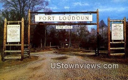 Old Fort Loudoun - Chattanooga, Tennessee TN Postcard
