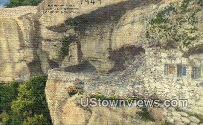 Rainbow Hall, Rock City Garden - Lookout Mountain, Tennessee TN Postcard