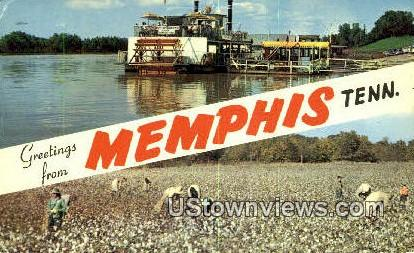 Greetings From - Memphis, Tennessee TN Postcard