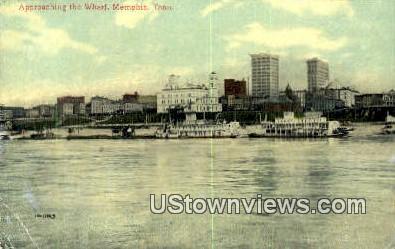 Wharf - Memphis, Tennessee TN Postcard