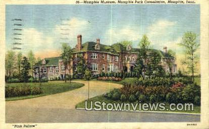 Memphis Museum and Park Commission - Tennessee TN Postcard