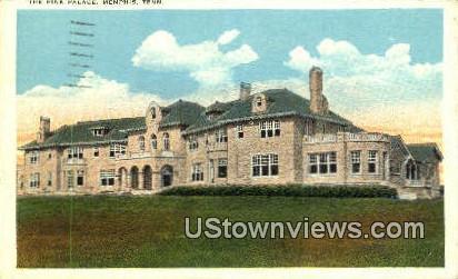 Pink Palace  - Memphis, Tennessee TN Postcard