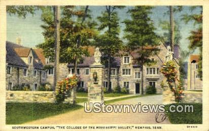 Southwestern Campus College - Memphis, Tennessee TN Postcard