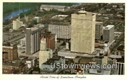 Down Town - Memphis, Tennessee TN Postcard