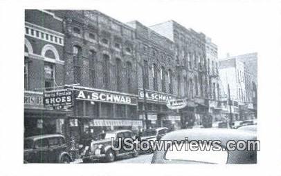 A Schwabs - Memphis, Tennessee TN Postcard