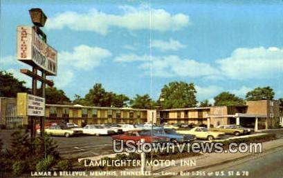 Lamplighter Motor Inn - Memphis, Tennessee TN Postcard