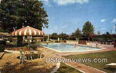 Master Host Town Park Motor Hotel - Memphis, Tennessee TN Postcard