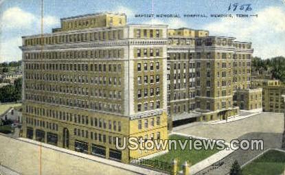Baptist Memorial Hospital - Memphis, Tennessee TN Postcard