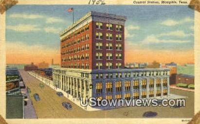 Central Station  - Memphis, Tennessee TN Postcard