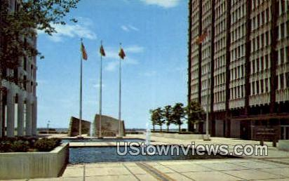 Plaza Of New Federal Building  - Memphis, Tennessee TN Postcard