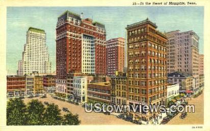 Heat Of Memphis - Tennessee TN Postcard