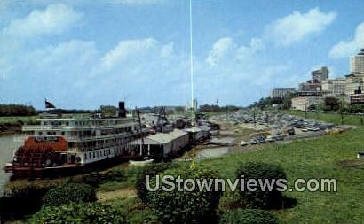 Delta Queen Riverboat - Memphis, Tennessee TN Postcard