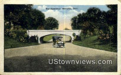 Speedway  - Memphis, Tennessee TN Postcard