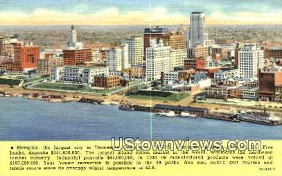 Memphis, Tenn    ;    Memphis, TN - Tennessee TN Postcard
