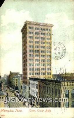 Tennessee Trust Building  - Memphis Postcard