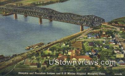 US Marine Hospital - Memphis, Tennessee TN Postcard