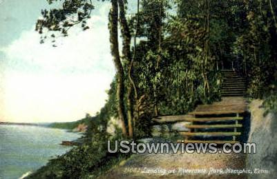 Landing At Riverside Park - Memphis, Tennessee TN Postcard