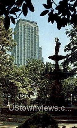 Court Square  - Memphis, Tennessee TN Postcard