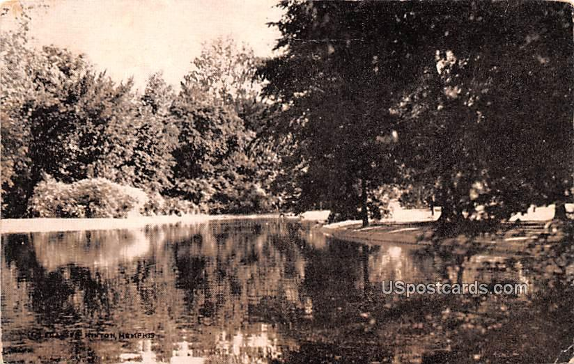 Lake View - Memphis, Tennessee TN Postcard