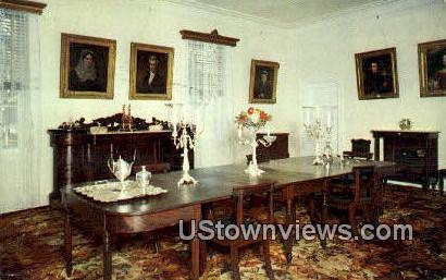 Dining Room, Hermitage - Nashville, Tennessee TN Postcard