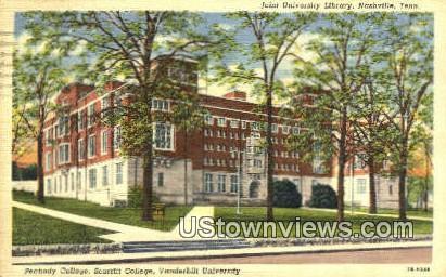 Joint University Library - Nashville, Tennessee TN Postcard