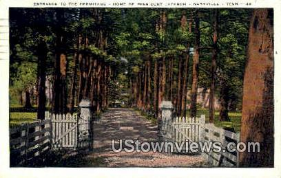 Hermitage - Nashville, Tennessee TN Postcard