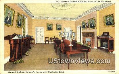 General Andrew Jackson's Home - Nashville, Tennessee TN Postcard
