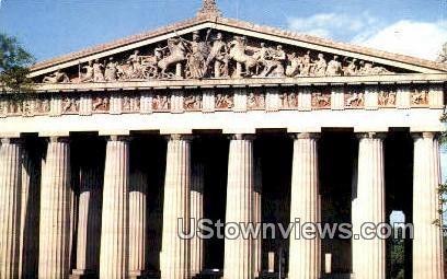 The Parthenon, Centennial park - Nashville, Tennessee TN Postcard