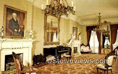 Double Parlour, Belle Meade Mansion - Nashville, Tennessee TN Postcard