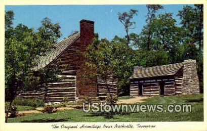Original Hermitage - Nashville, Tennessee TN Postcard