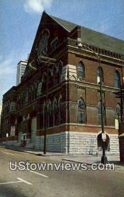 Ryman Auditorium - Nashville, Tennessee TN Postcard
