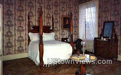 Bedroom, Andrew Jackson Jr. Hermitage - Nashville, Tennessee TN Postcard