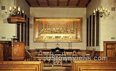 The Last Supper, Upper Room Chapel - Nashville, Tennessee TN Postcard
