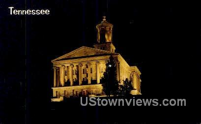 Tennessee State Capitol - Nashville Postcard