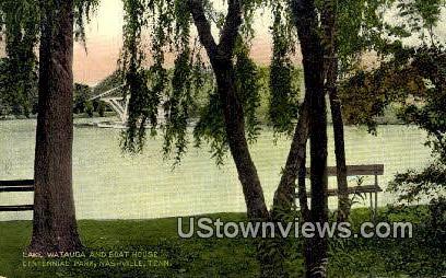 Lake Watauga - Nashville, Tennessee TN Postcard