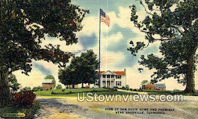 Sam Davis Home & Premises - Nashville, Tennessee TN Postcard