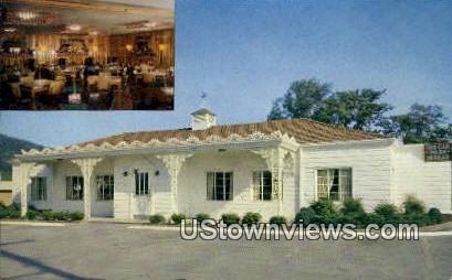 Mt. Vernon Colonial Restaurant - Chattanooga, Tennessee TN Postcard
