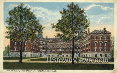 Kissam Hall, Vanderbilt University - Nashville, Tennessee TN Postcard
