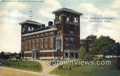St. Thomas Infirmary - Nashville, Tennessee TN Postcard