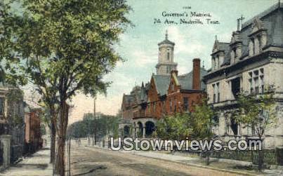 Governor's Mansion - Nashville, Tennessee TN Postcard