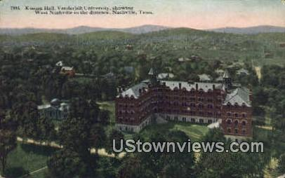 Kissam Hall, Vanderbilt University - Nashville, Tennessee TN Postcard