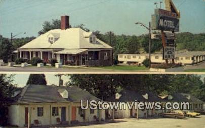 Tennessee Motel - Nashville Postcard