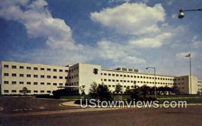 Veterans Hospital - Nashville, Tennessee TN Postcard