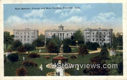 Ward Belmont - Nashville, Tennessee TN Postcard